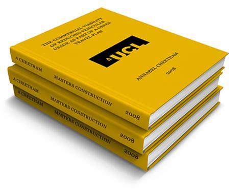 Phd thesis printing london